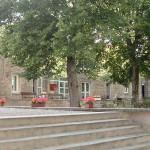 Cour intérieure de la Bergerie