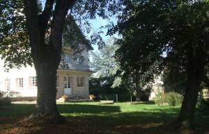 Extérieur et jardin à la Bergerie