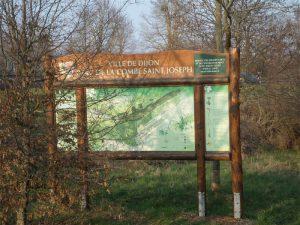 panneau touristique tout proche de La Bergerie