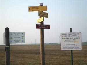 panneaux touristiques tout proche de La Bergerie